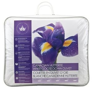 Canadian Down and Feather Hutterite Goose Duvet
